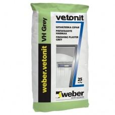 Weber VH pelēks (ex Vetonit VH pelēks) 25 kg špaktele mitrumizturīga