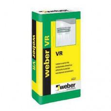 Weber VR nobeiguma špaktele sausām telpām (1-3mm) 20 kg